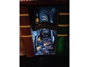 Fantasy Alleyway Book Nook