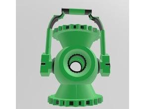 Multi-Material Green Lantern Battery