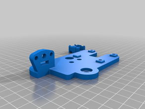 E3D Hemera mount for Ender 5 with BL Touch