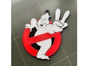 Ghostbusters 2 Logo Keychain