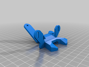 Anycubic i3 Mega S nozzle fan duct (Prusa style with 5015 fan)