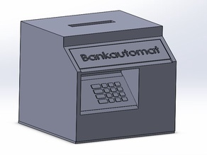 ATM Bankomat  money box Bankautomat