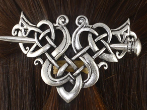 Viking Hair Pin Brooch Jewellery