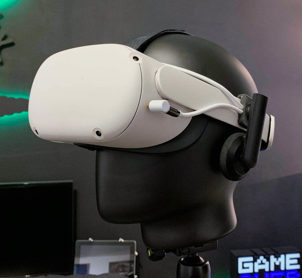 Oculus Quest 2 Headphone Mount