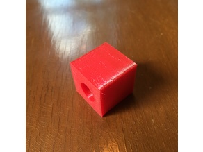 TPU Test Cube Prusa MK3S with Config for Ninjaflex