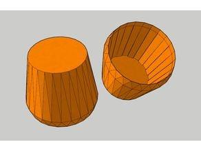 48mm cone air filter COVER CAP