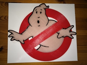Ghostbusters Logo Plate