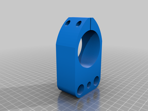 CNC 52 mm spindle clamp