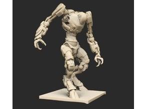 Cyberpunk Robots x6