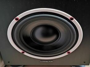 """Cambridge audio 8"""" speaker ring"""