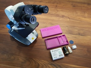 Microscope Slides Box