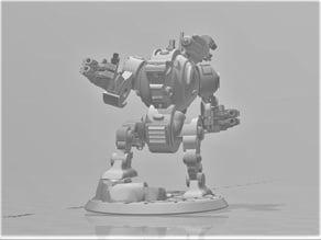 Eddie Furibundus Pattern Style Dreadnought - 28mm Robot Sci-Fi