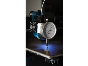 Artillery Sidewinder X1 dial gauge holder / Messuhrhalterung