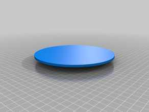 Painting rotating plate