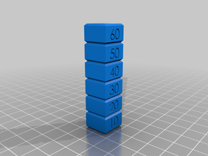 Print Speed Test Block