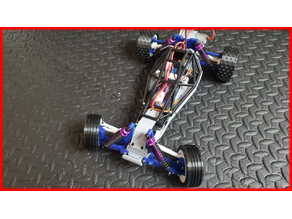 1/10 Scale RC Buggy (Chassis)
