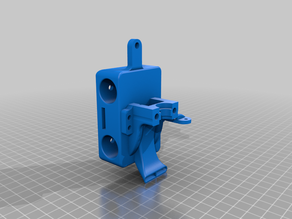 MBX (Mono-Block X) Carriage for BLTouch - Bowden - HEVO
