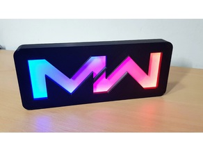 MW Led Sign