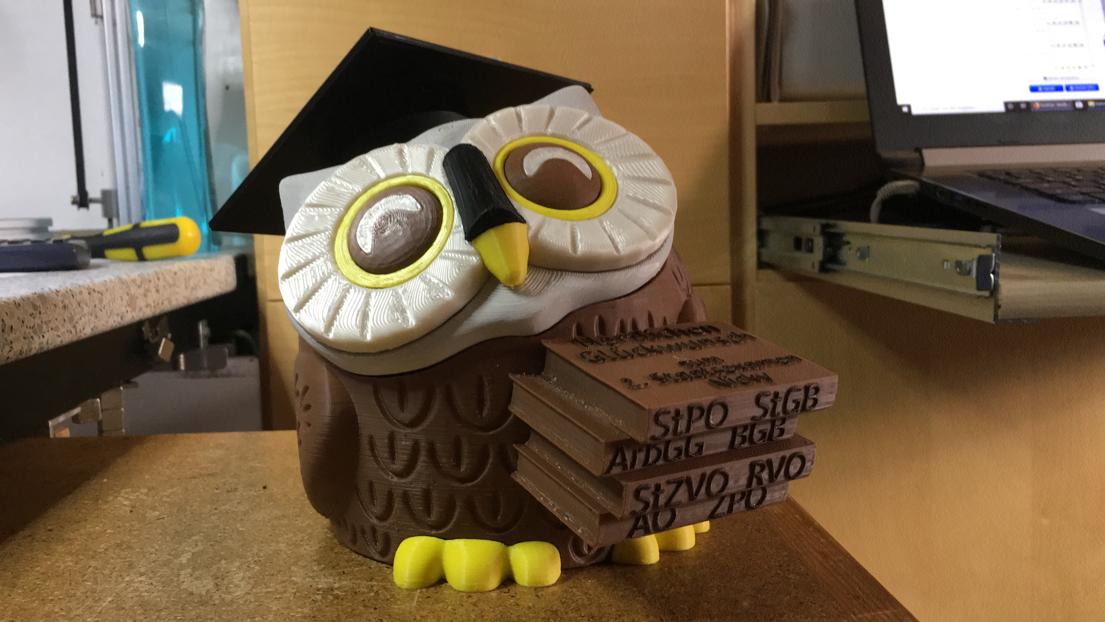 Owl for state examination