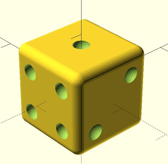 Simple Parametric Die