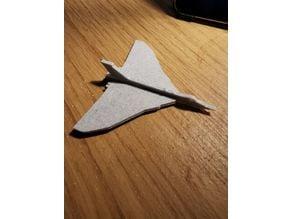 Avro Vulcan Kit Card