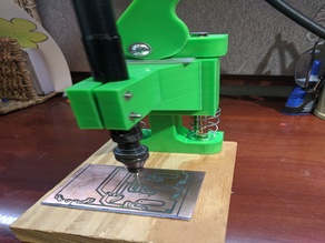 Dremel(snake) PCB Drill Press