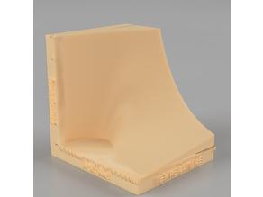 Van der Waals State Surface (semi-log scale)