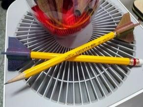 My Customized rocket pencil top