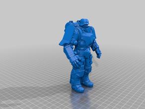 dieselpunk super soldier - t model