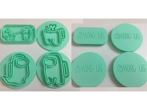 Among Us Cookie Cutters