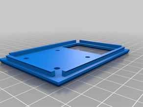 Lulzbot Taz Workhorse PanelDue LCD mount