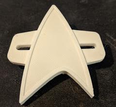 Star Trek Voyager Communicator with pin back