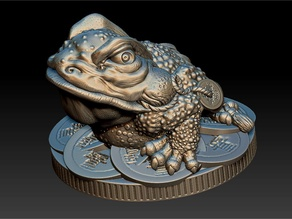 Money Frog - Jin Chan - statuette - 2019