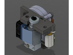 Makerfarm Pegasus BLTouch and blower fan mount