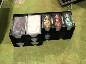 Nemesis card holder replacement tray