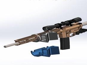 Rifle Holder / Mount - TREE (strap on)