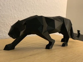 Panther Origami