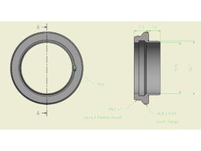Microscope Adapter ring Swift - M42