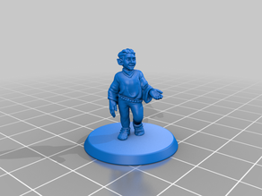 D&D Halfling Mini- Shorter