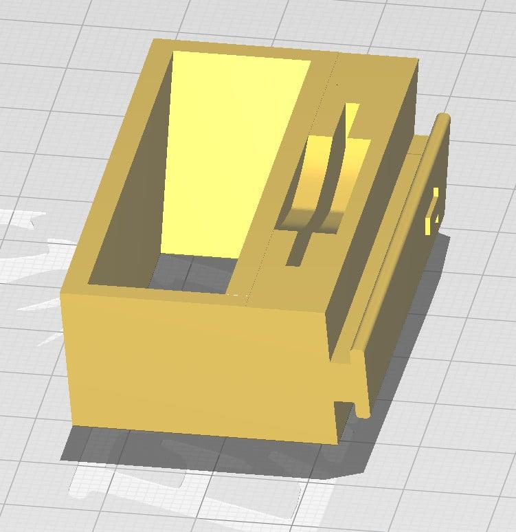 Combined pliers/scraper holder for Ender 3