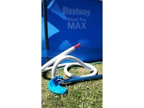 Pool vacuum cleaner connector for BestWay filter hose