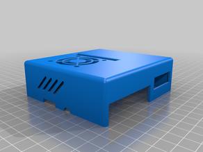 Fan Case Top for Raspberry Pi 3 Model B
