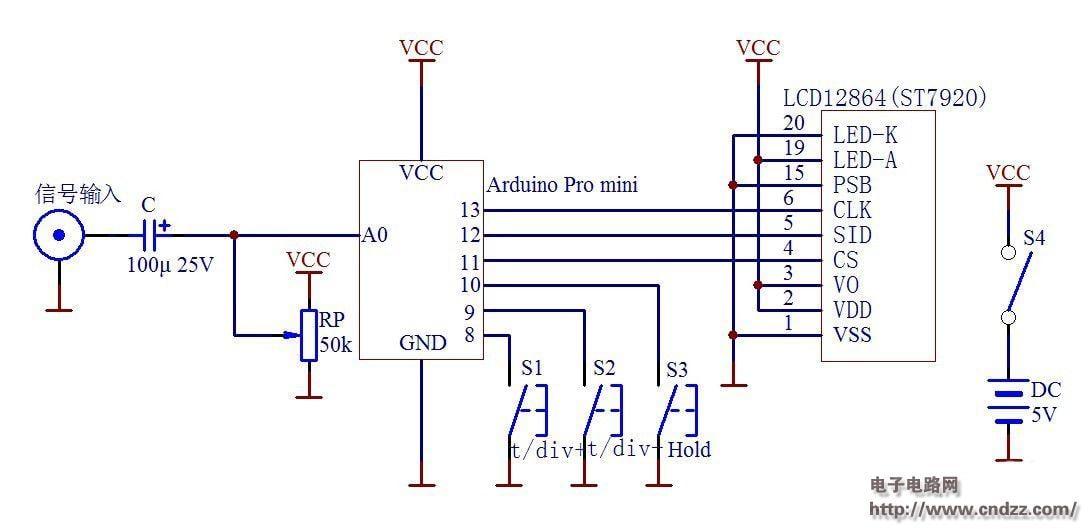 Make a digital oscilloscope via Arduino by James_Seeed