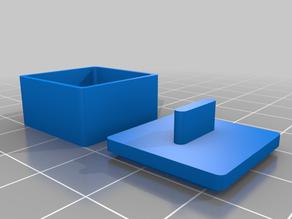 Box mit Deckel, box with lid