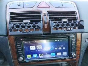 Peugeot 307 2 DIN frame for AR6002B radio  and phone holder