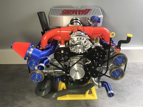Alternator, Power Steering Pump and A/C Compressor extension for the EJ20 Subaru Engine