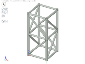 Truss - Square base - Stackable
