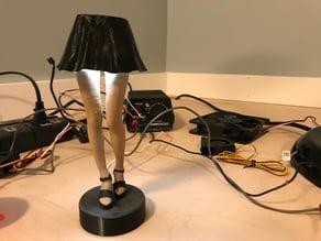 Sexy Cyborg leg lamp