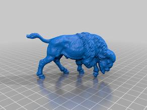 Buffalo 3D Scan