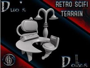 Retro Scifi Terrain Pack
